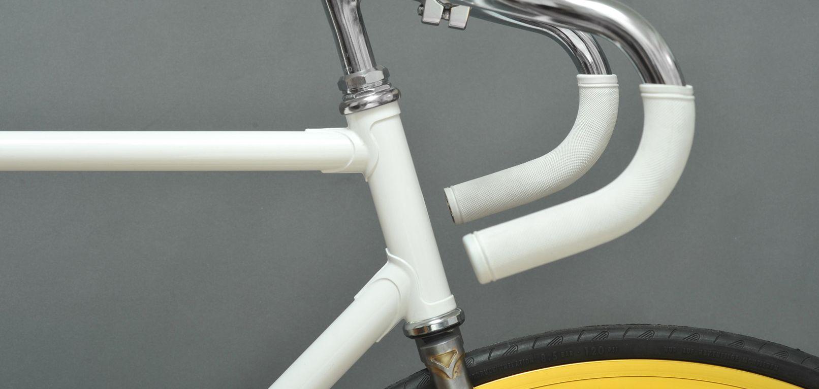 Elke Bertelli fiets een uniek design object