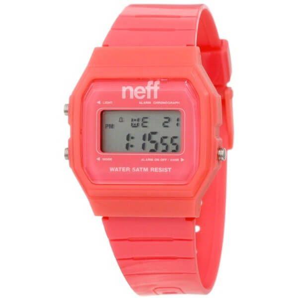 Neff Men's Old School Flava Pink Watch