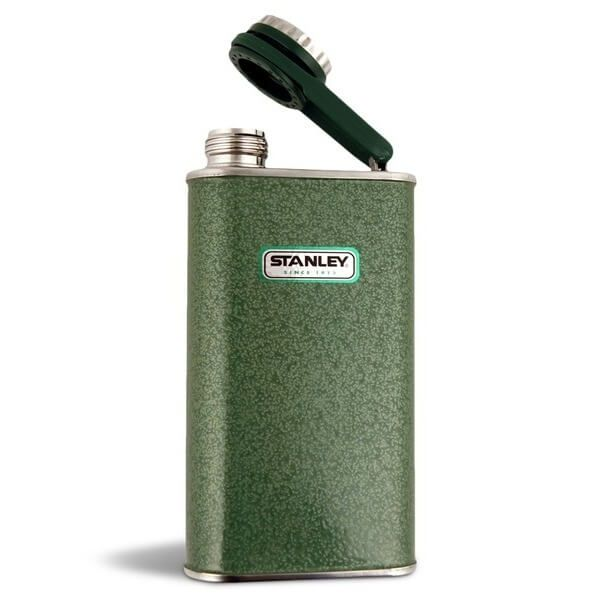 Stanley 8-Ounce Classic Flask, Hammertone Green