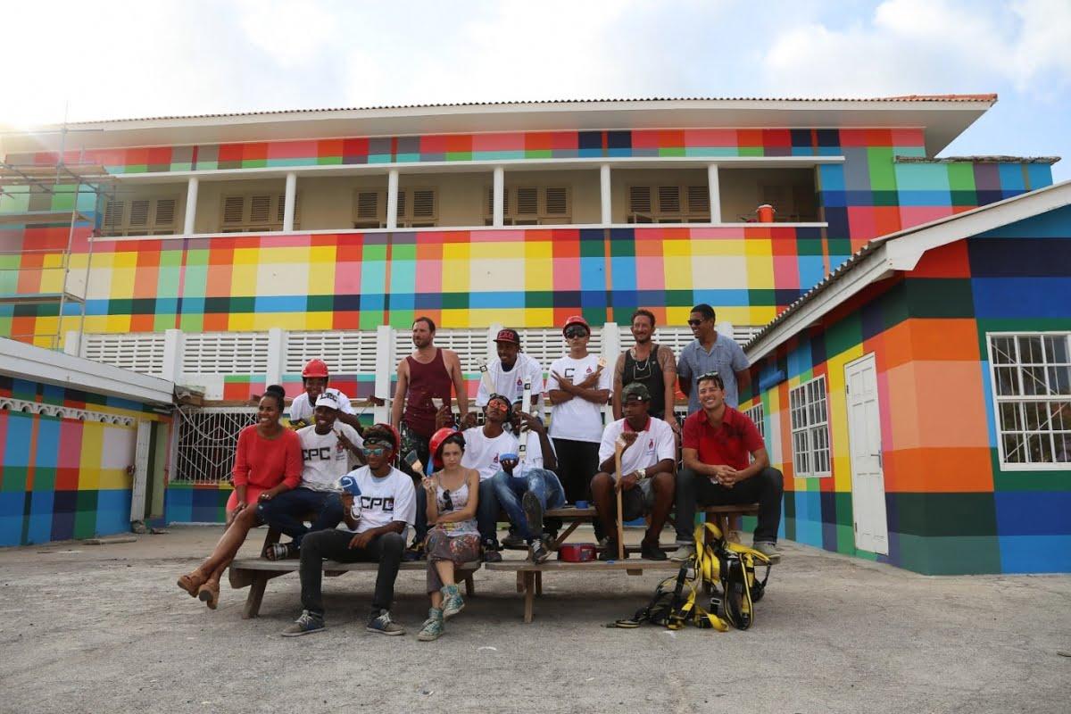 Curaçao - Favela Painting
